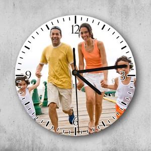 Reloj circular personalizado con foto