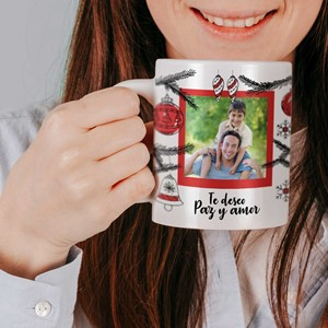 Taza cerámica personalizada Decoración Navidad