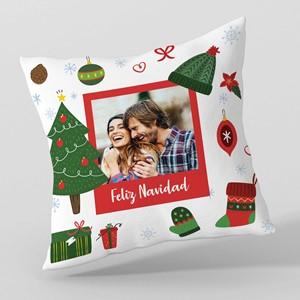 Almohadón 40x40 personalizado Objetos Navidad