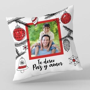 Almohadón 40x40 personalizado Decoración Navidad