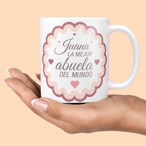 Taza cerámica La mejor Abuela del mundo
